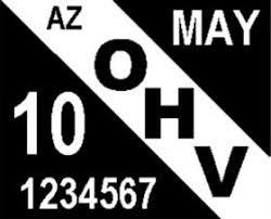 OHV or MC Plates?
